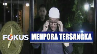 Imam Nahrawi segera berkonsultasi dengan Presiden Jokowi usai ditetapkan sebagai tersangka kasus suap.