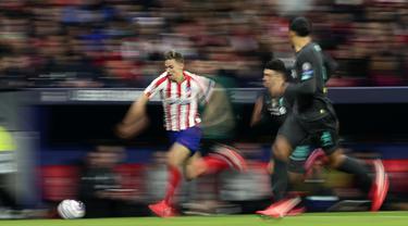 Gol Saul Niguez Bawa Atletico Madrid Hajar Liverpool