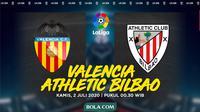 La Liga - Valencia Vs Athletic Bilbao (Bola.com/Adreanus Titus)