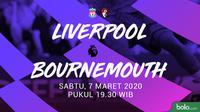 Premier League - Liverpool vs AFC Bournemouth (Bola.com/Adreanus Titus)