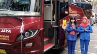 Menteri Perhubungan RI Budi Karya Sumadi telah meluncurkan angkutan pemukiman JR Connexion di ITC Mangga Dua, Jakarta.
