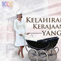 Kelahiran anak kerajaan Inggris. (DI: Nurman Abdul Hakim/Bintang.com)