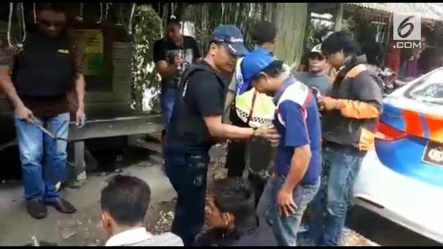 Polres Tasikmalaya tangkap beberapa preman jalanan yang melakaukan pungli pada pengguna jalan.