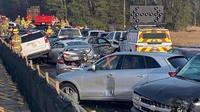 Kecelakaan beruntun di Virginia (Virginia State Police)
