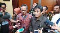 Kejaksaan Tinggi (Kejati) DKI Jakarta menerima laporan Badan Penyelenggara Jaminan Sosial BPJS Ketenagakerjaaan soal penunggakan iuran dari 43 ribu perusahaan di Jakarta. (Liputan6.com/Fachrur Rozie)