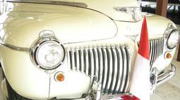 Mobil De Soto keluaran 1942 ini digunakan wakil persiden RI, Mohammad Hatta yang merupakan hadiah dari pengusaha sekaligus pamannya, Djohan Djohor. (Istimewa)