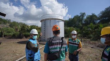 Sebanyak 845 keluarga di perbatasan Nusa Tenggara Timur (NTT) dan Timor Leste kini dapat menikmati listrik 24 jam. Dok PLN