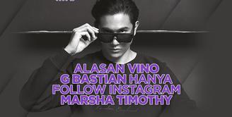 Apa alasan Vino hanya mengikuti akun Instagram sang istri? Yuk, kita simak videonya di atas!