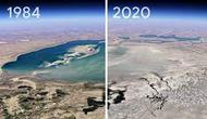 Tangkapan layar timelapse Google Earth