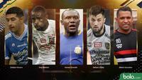 Trivia 5 Pemain Naturalisasi yang Diprediksi Bakal Menggebrak Liga 1 2019 (Bola.com/Adreanus Titus)