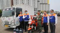 Bantuan BRI untuk Wisma Atlet yang dijadikan rumah sakit darurat corona.