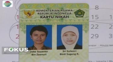Kementerian Agama mengatakan kartu nikah diperlukan untuk permudah administrasi.