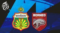BRI Liga 1 - Bhayangkara FC Vs Bornero FC (Bola.com/Adreanus Titus)