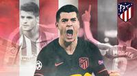 Atletico Madrid - Alvaro Morata (Bola.com/Adreanus Titus)