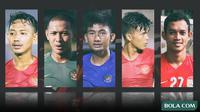 Trivia - Pemain Beckham Putra, Gian Zola, Gianluca Pagliuca Rossy, Sutan Zico, Maldini Pali (Bola.com/Adreanus Titus)