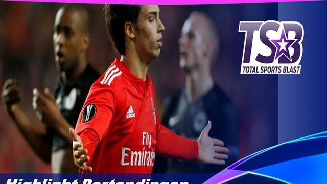 Berita video highlights perempat final leg I Liga Europa 2018-2019 antara Benfica melawan Eintracht Frankfurt yang berakhir dengan skor 4-2, Kamis (11/4/2019).