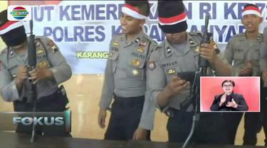 Berbagai macam lomba unik sambut peringatan HUT ke-72 Republik Indonesia.