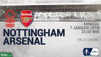 FA_Nottingham Forest Vs Arsenal (Bola.com/Adreanus Titus)