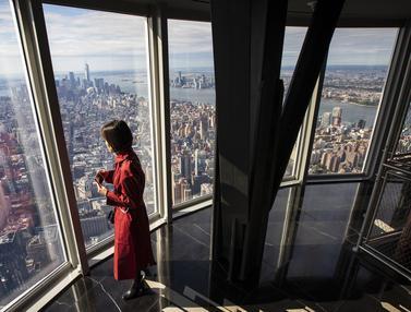 Menikmati Pemandangan Kota Manhattan dari Ketinggian