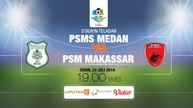 PSMS MEDAN VS PSM MAKASSAR
