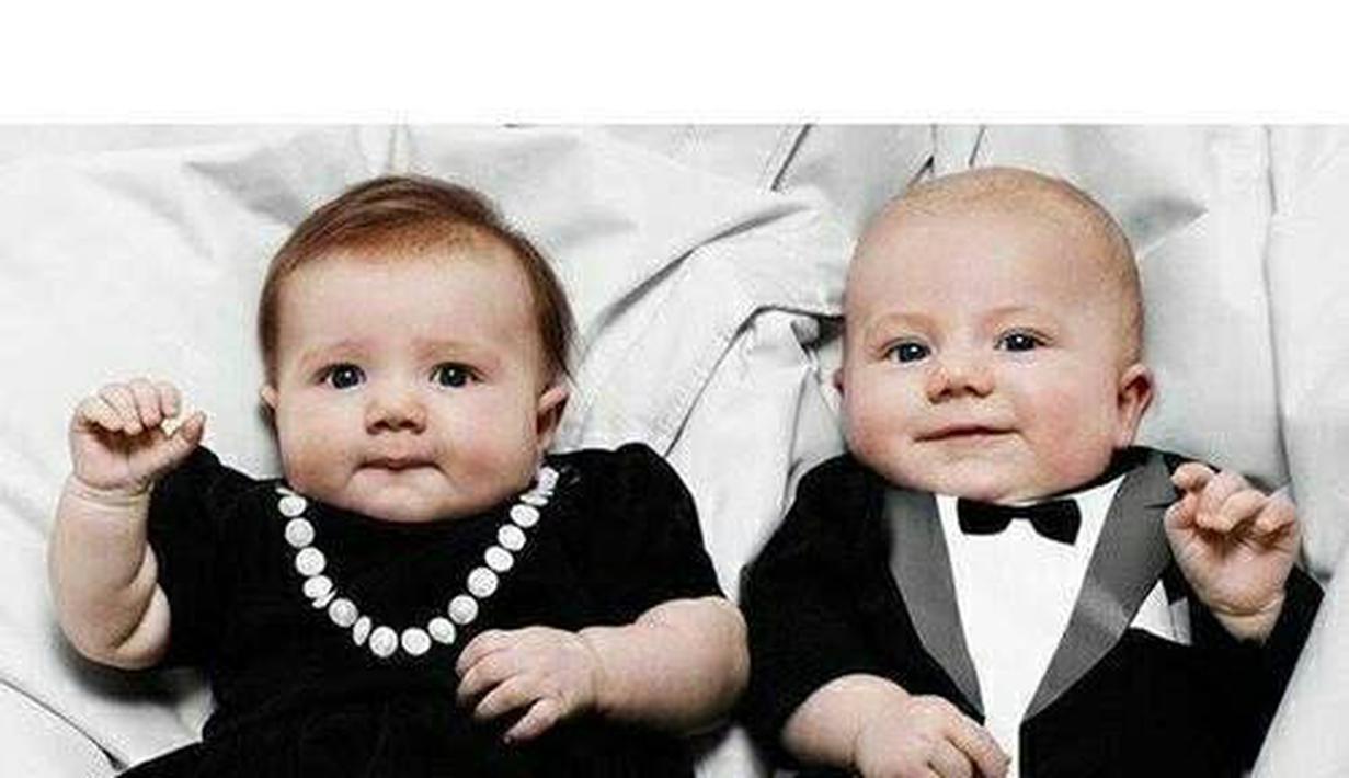Foto Bayi Kembar Laki-Laki Dan Perempuan Super Cute ...