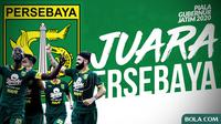 Persebaya Surabaya Juara Piala Gubernur Jatim 2020. (Bola.com/Dody Iryawan)