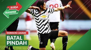 Berita video bursa transfer, Edinson Cavani memutuskan untuk perpanjang kontrak dengan Manchester United