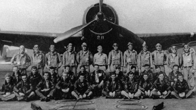 Torpedo Bomber #28, pesawat utama Flight 19, yang lenyap pada Desember 1945 di lepas pantai Florida. (AP)