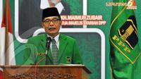 Plt Ketua Umum PPP Emron Pangkapi  (Liputan6.com/Johan Tallo).