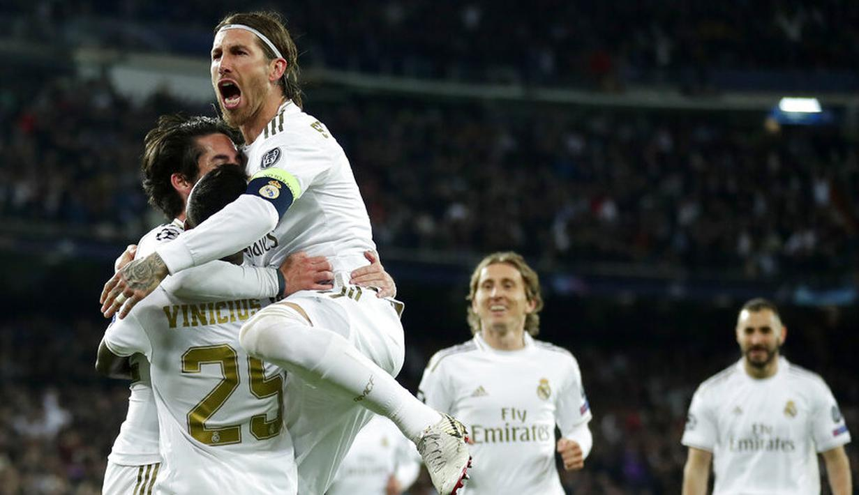 FOTO Bermain Di Santiago Bernabeu Real Madrid DIbungkam