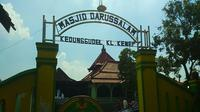 Merujuk tradisi lisan setempat, Pangeran Diponegoro sempat bersembunyi di Masjid Darussalam, Dukuh Kedunggudel, Kelurahan Kenep di Sukoharjo, Jawa Tengah. (Solopos/Trianto Hery Suryono)