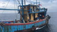 Penangkapan berawal saat KRI Kerambit-627 di bawah kendali operasi Gugus Keamanan Laut (Guskamla) Koarmada I melaksanakan patroli di wilayah Perairan ZEE Indonesia