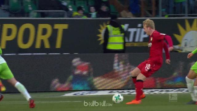 Bayer Leverkusen memaksa Wolfsburg mendekati zona degdradasi Liga Jerman setelah menang 2-1 di pekan ke-25 Liga Jerman. Gol Lucas ...