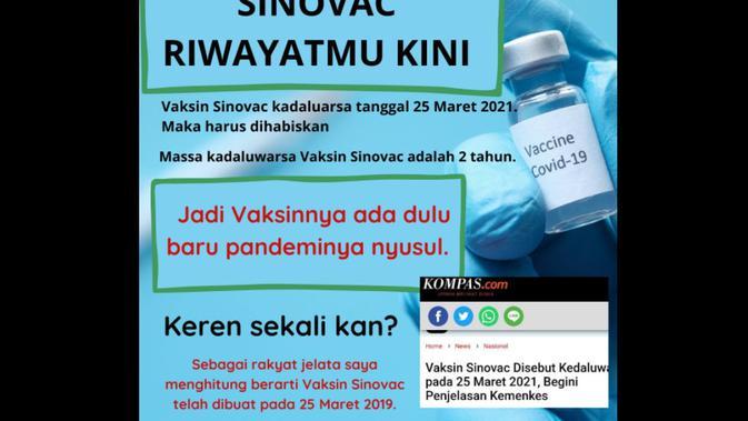 cek fakta liputan6.com menelusuri klaim vaksin kadaluarsa