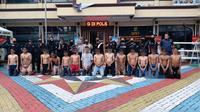 Polres Metro Jakarta Bara Mengamankan 13 Pemuda Akibat Tawuran. (Dokumentasi: Polres Metro Jakarta Barat).