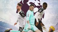 Premier League - Joachim Andersen, Sam Johnstone, Ademola Lookman (Bola.com/Adreanus Titus)