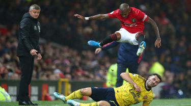 Arsenal Tahan Imbang Manchester United di Old Trafford