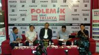 Diskusi tentang penghapusan ujian nasional, Jakarta, Sabtu (14/12/2019). (Liputan6.com/Putu Merta Surya Putra)