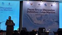 Focus group discussion tentang delimitasi batas maritim (Dok: Athika Rahma)