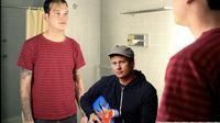 Matt Skiba dan mantan personel Blink 182, Tom DeLonge (Sumber Foto: Google)