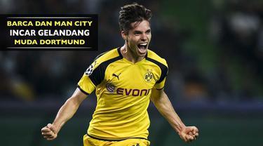 Dilansir dari AS, Barcelona dan Manchester City mengincar gelandang bertahan Borussia Dortmund, Julian Weigl