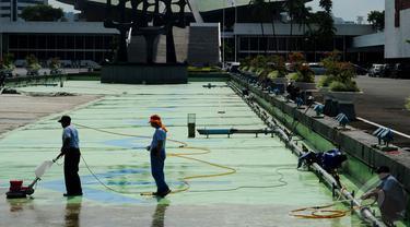 Anggota Dewan Reses, Gedung DPR RI Dibersihkan