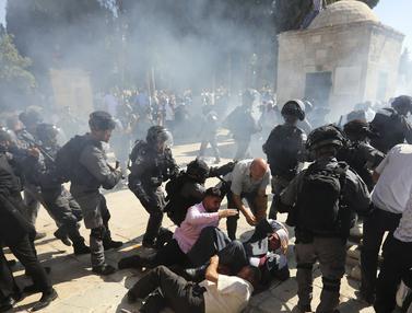 Idul Adha, Polisi Israel dan Warga Palestina Bentrok