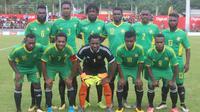 Vanuatu yang akan menjadi calon lawan Timnas Indonesia saat ini berada di peringkat ke-166 ranking FIFA. (dok. Vanuatu Daily Post)
