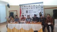 Siang ini Ketua MPR Bambang Soesatyo atau Bamsoet dan pimpinan lainnya berkunjung ke DPP Partai Keadilan Sejahtera (PKS). (Liputan6.com/Yopi Makdori)