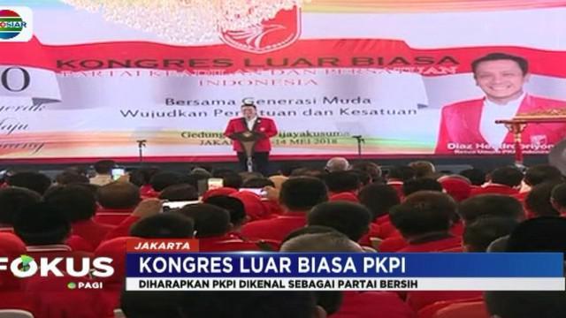 Diaz mengharapkan PKPI akan menjadi partai yang berjiwa muda dan mampu menjawab perubahan jaman serta teknologi yang serba cepat.