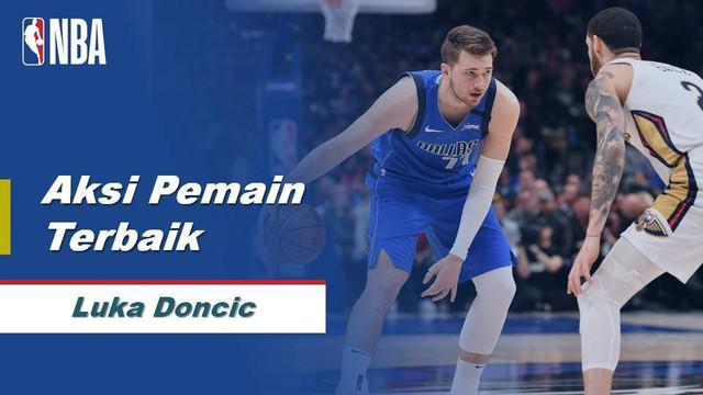 Berita Video Luka Doncic Bawa Dallas Mavericks Menang Atas New Orleans Pelicans 127-123