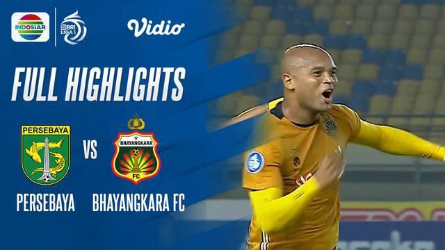 Berita Video, Highlights Pertandingan Persebaya Surabaya Vs Bhayangkara FC pada Jumat (24/9/2021)