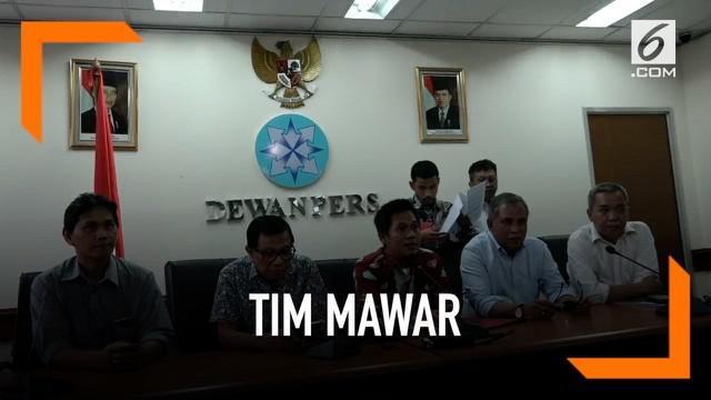 Mantan Komandan Tim Mawar Mayjen TNI (Pur.) Chairawa mengadukan isi pemberitaan majalah Tempo ke Dewan Pers. Terkait disebutnya Tim Mawar dalam aksi kericuhan 22 Mei 2019.