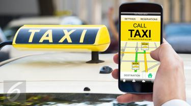 Ilustrasi Foto Taksi Online (iStockphoto) 